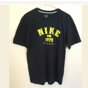"Nike ""Nike 1972"" T-Shirt Blue Men's SzLarge (aa)"